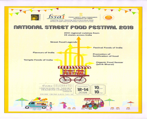 FSSAI support \'Global Indian Food Day\' initiative - Healthy India ...